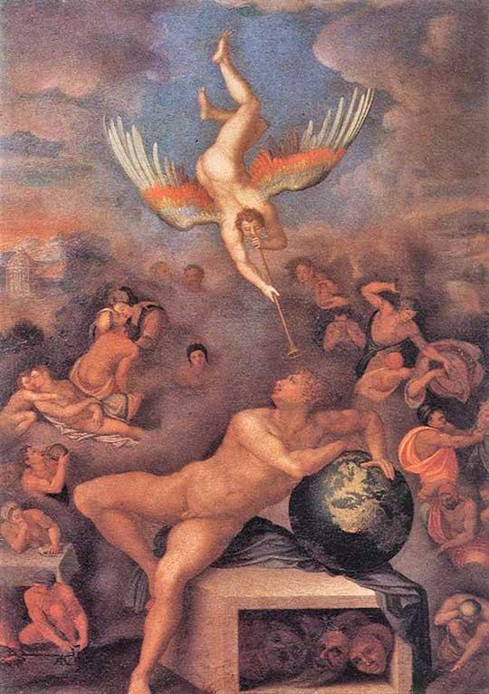 Alegorie lidského života, Alessandro Allori, 1570–90