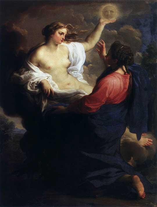 Alegorie milosrdenství a pravdy, Pompeo Batoni, 1745