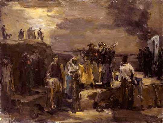 Masakr v Babím Jaru, Felix Lambersky, cca 1944–52. CC BY-SA 3.0➚