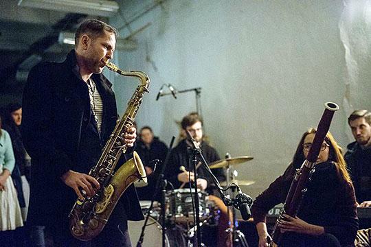 Pavel Zlámal & DIvergent Connections Orchestra vModetě, foto archiv kapely