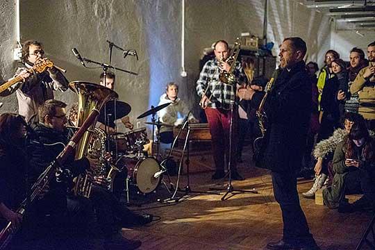Divergent Connections Orchestra vModetě, foto archiv kapely