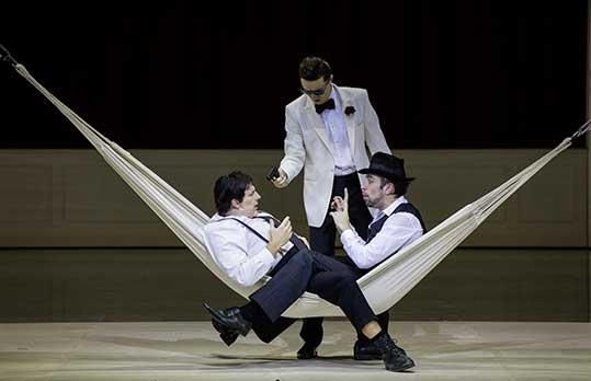Falstaff, Theater an der Wien, foto © Herwig Prammer