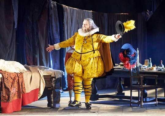 Falstaff, foto © Michael Pöhn / Wiener Staatsoper