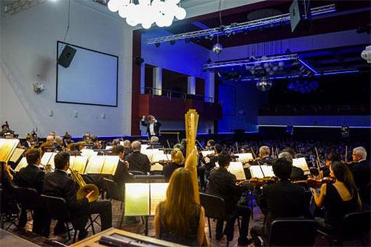 Filharmonie Brno a Jakub Hrůša na Stadionu, foto Jiří Jelínek