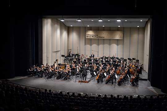 Alexander Liebreich, Filharmonie Brno. Foto © Jiří Jelínek