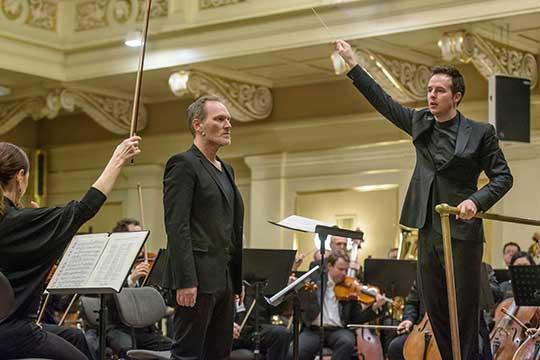 Case Scaglione, Brian Caspe, Filharmonie Brno. Foto Jiří Jelínek