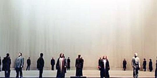 Žena bez stínu, Vídeňská státní opera 2012.Režie Robert Carsen, dirigoval F. Welser-Möst. Foto © Wiener Staatsoper / Michael Pöhn
