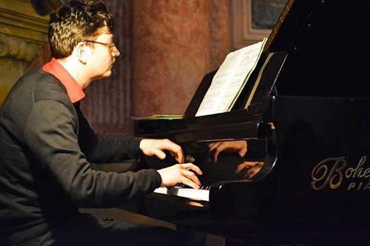 Marek Keprt. foto MusicOlomouc