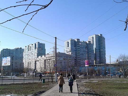 Sídliště Moskva, Čerjomuški, ulice Akademika Piljugina. Foto wiki, CC BY-SA 3.0
