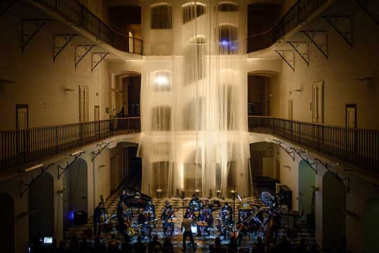 Orchestr Berg, foto © Karel Šustr