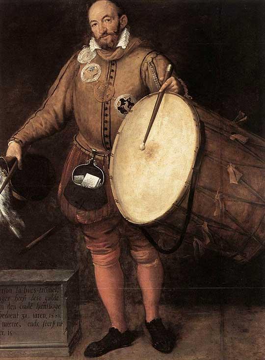 Pierson La Hue. Gillis Congnet, 1581