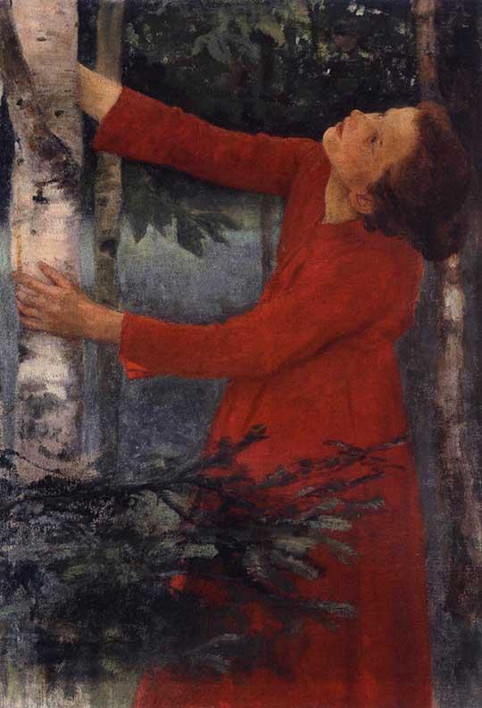Ptačí zpěv, Károly Ferenczy, 1893