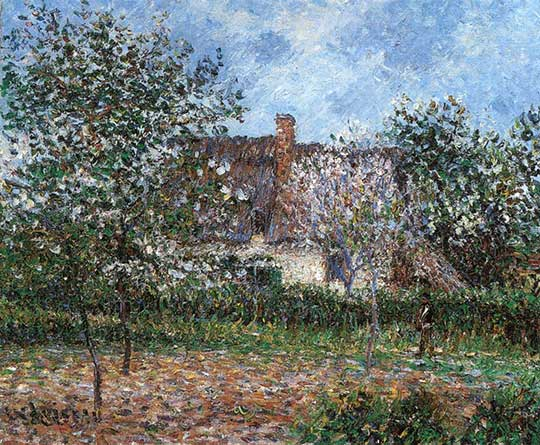 Sad na jaře, Gustave Loiseau, 1899