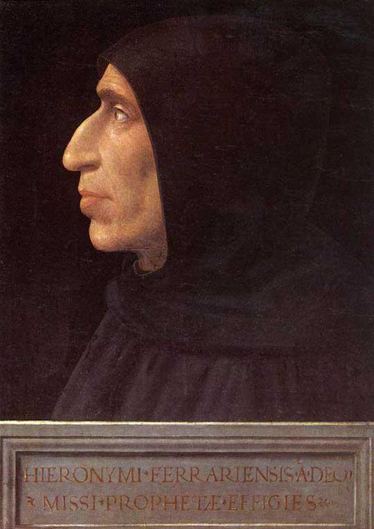 Girolamo Savonarola, Fra Bartolomeo, 1498