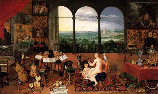 Sluch, Jan Brueghel starší, 1618