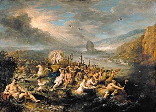 Triumf Neptuna aAmfitríty, Frans Francken