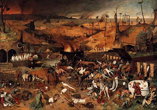 Triumf smrti, Pieter Bruegel starší, 1562