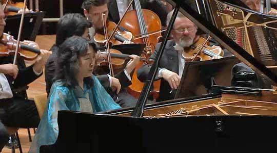 Mitsuko Uchida, Digital Concert Hall, screenshot