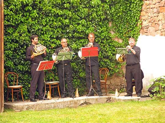 Brněnští hornisté, hymna